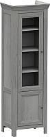 Шкаф-пенал с витриной WellMaker Норманн ШП2-60 ПП (люберон) -