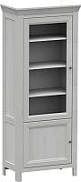 Шкаф с витриной WellMaker Норманн ШП2-80 ПП (дижон) -