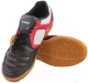 Бутсы футбольные Atemi SD730A Indoor (черный/белый/красный, р-р 38) -