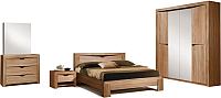 Комплект мебели для спальни ФорестДекоГрупп Герда-4.1 (дуб крафт) -