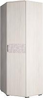 Шкаф Астрид Мебель Марсель М-13 / ЦРК.МРС.01 (анкор белый) -