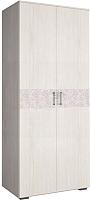 Шкаф Астрид Мебель Марсель М-14 / ЦРК.МРС.01 (анкор белый) -