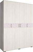 Шкаф Астрид Мебель Марсель М-16 / ЦРК.МРС.01 (анкор белый) -