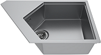 Мойка кухонная KitKraken River K-775 (серый) -