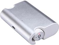 Наушники-гарнитура Platinet PM1080W Bluetooth + зарядный футляр (белый) -