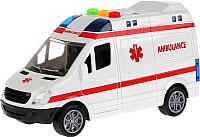 Автомобиль игрушечный Big Motors Скорая помощь / RJ6689A -