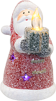 Световая фигурка Neon-Night Дед Мороз со свечкой 505-008 -
