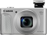 Компактный фотоаппарат Canon PowerShot SX730HS / 1792C002 (серебристый) -