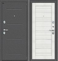 Входная дверь el'Porta S 2 104.П22 Антик cеребристый/Bianco Veralinga (88x205, правая) -