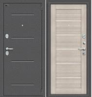 Входная дверь el'Porta Porta S 2 104.П22 Антик серебристый/Cappuccino Veralinga (88x205, правая) -