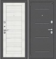Входная дверь el'Porta Porta S 2 104.П22 Антик серебристый/Bianco Veralinga (98x205, левая) -
