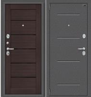 Входная дверь el'Porta Porta S 2 104.П22 Антик серебристый/Wenge Veralinga (98x205, левая) -