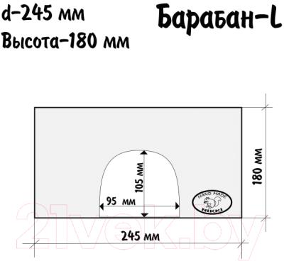 Домик для клетки Nikki Барабан-L / 10024