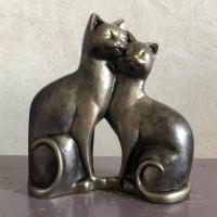 Статуэтка Нашы майстры Влюбленные коты 3036 (декорированная) -