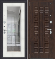Входная дверь el'Porta Porta S 51.П61 Almon 28/Bianco Veralinga (98x205, левая) -