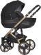 Детская универсальная коляска Riko Brano 3 в 1 (gold black) -