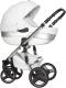 Детская универсальная коляска Riko Brano Ecco 3 в 1 (silver/white) -