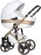 Детская универсальная коляска Riko Brano Ecco 3 в 1 (gold/white) -