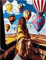 Картина по номерам Picasso Иди за мной! Воздушные шары (PC4050562) -