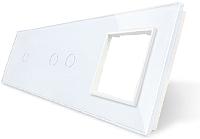 Лицевая панель комбинированная Livolo BB-C7-C1/C2/SR-11 -