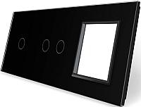 Лицевая панель комбинированная Livolo BB-C7-C1/C2/SR-12 -