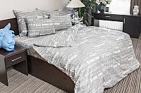 Комплект постельного белья Ночь нежна Письма Стандарт Евро 50x70 / 7420-1 -