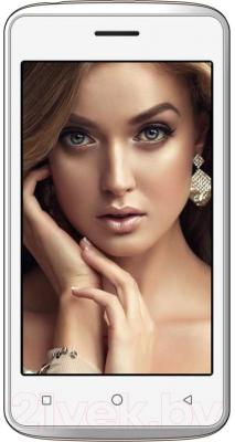 Смартфон Inoi 1 Lite + чехол и защитное стекло (золото)