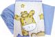 Комплект постельный в кроватку Топотушки Детский Мир 3 предмета / 319М/2 (голубой) -
