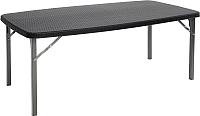 Стол складной GoGarden Biarritz / 50369 (черный) -