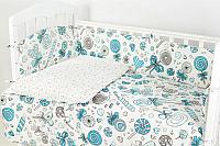 Комплект постельный в кроватку Топотушки Фантазия 6 предметов / 601/3 (карамель) -