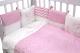 Комплект в кроватку Топотушки Гав-Гав 6 предметов / 671/1 (розовый) -
