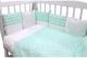 Комплект в кроватку Топотушки Гав-Гав 6 предметов / 671/7 (бирюзовый) -