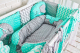 Комплект в кроватку Топотушки Слоники / 676 (6 предметов) -