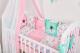 Комплект в кроватку Топотушки Балерина / 681 (6 предметов) -