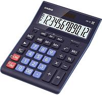 Калькулятор Casio GR-12-BU-W-EP (синий) -