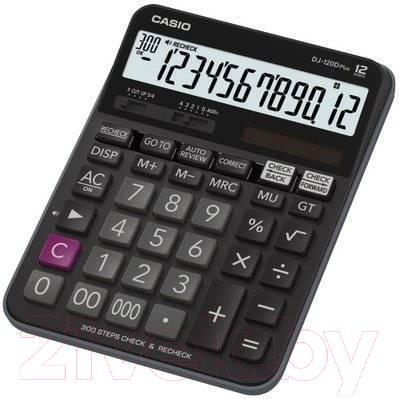 Калькулятор Casio MJ-120DPLUS-W-EP