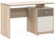 Письменный стол Империал Татани 1д (дуб сонома/латте/крем) -