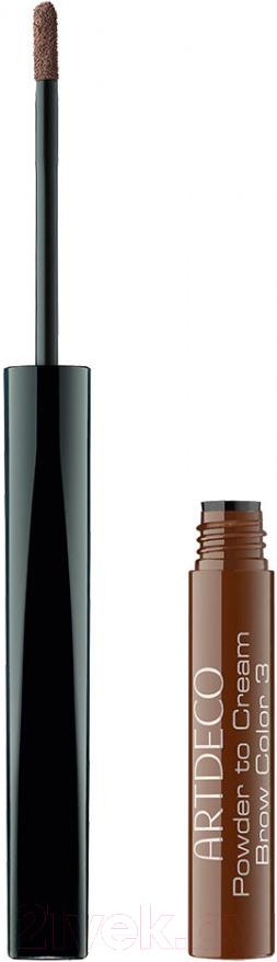Купить Тени для бровей Artdeco, Powder To Cream Brow Color 58281.3, Германия, брюнет/шатен (коричневый)