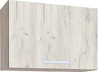 Шкаф под вытяжку Интерлиния Мила ВШГ50-360 (дуб белый) -