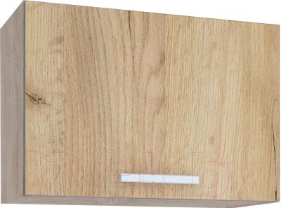 Шкаф под вытяжку Интерлиния Мила ВШГ50-360 (дуб золото)