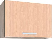 Шкаф под вытяжку Интерлиния Мила ВШГ50-360 (дуб молочный) -