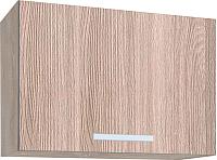 Шкаф под вытяжку Интерлиния Мила ВШГ50-360 (ясень светлый) -
