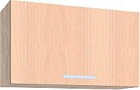 Шкаф под вытяжку Интерлиния Мила ВШГ60-360 (дуб молочный) -