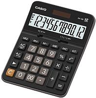 Калькулятор Casio DX-12B-W-EC (черный) -
