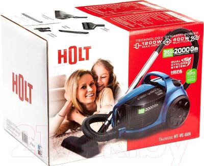 Пылесос Holt HT-VC-009 (синий) -