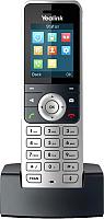 Дополнительная телефонная трубка Yealink W53H (серебристый) -