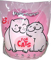 Наполнитель для туалета For Cats Силикагелевый Fresh Powder / TUZ037 (8л) -