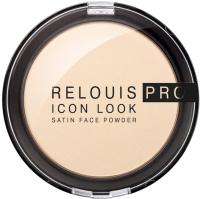 Пудра компактная Relouis Pro Icon Look Satin Face Powder тон 00 -