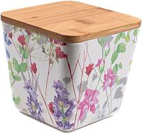 Емкость для хранения Fresca Цветы / BP1111-S-18010 -