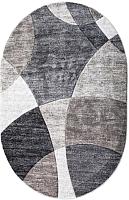 Ковер Bossan Parana Light 9120E-MAVI-A-GRI-Oval (0.8x1.5) -